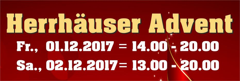 Herrhäuser Advent 2017